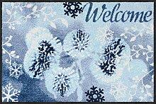 Salonloewe Fußmatte Welcome Winter 050x075