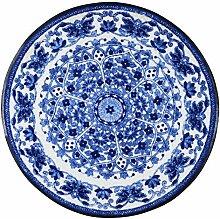 Salonloewe Zimra runde Fußmatte waschbar