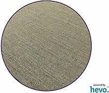 Salsa Design HEVO® Sisal Teppich Granit mit lila
