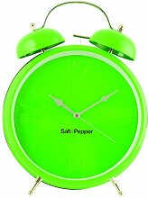 Salt&Pepper Wanduhr, 25 cm, Grün
