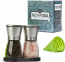 Salz- und Pfeffermühle Set - Gewürzmühlen mit
