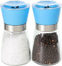 Salz- und Pfeffermühlen modernes Retro-Design,