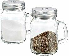 Salz- und Pfefferstreuer Mini Mason