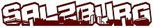 Salzburg Schriftzug Skyline Aufkleber in 8 Größen und 25 Farben (30x5cm burgundy)