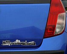 Salzburg Skyline Aufkleber Sticker Autoaufkleber
