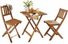 SAM 3tlg. Balkon- Sitzgruppe, Garten-Möbel aus