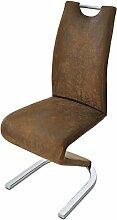 SAM® Exklusiver Design Freischwinger Stuhl in