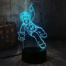 Sam Feuerwehrmann 3D Illusion Nachtlicht LED USB 7