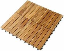 SAM® Holz-Fliese aus Akazie, Fliese 01,
