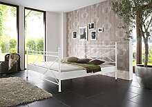 SAM® Metallbett 200x200 cm Ivrea, Bettgestell