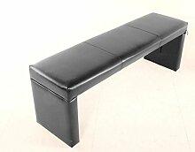 SAM® Sitzbank Saba 140 cm in grau komplett bezogen angenehme Polsterung pflegeleich