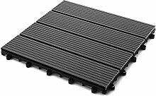 SAM® Terrassen-Fliese aus WPC Kunststoff,