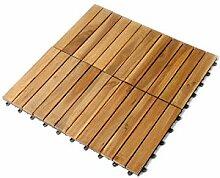SAM Terrassenfliese 01 Akazien-Holz, Einzelfliese,