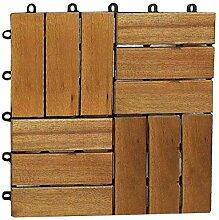SAM® Terrassenfliese 02 aus Akazien-Holz,