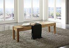 SAM® Wildeiche Esszimmer Sitzbank, 164 x 35 cm, Eiche geöl