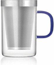 Samadoyo hitzebeständige Glas Tee Tasse