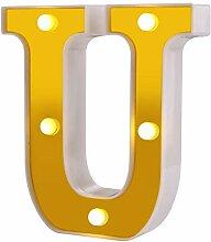 Samapete U led festzelt brief lichter 26 alphabet