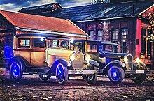 Samarkand - Lights LED Bild Leuchtbild 65 cm x 45