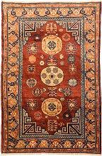 Samarkand Wollteppich mit Kothan Design in