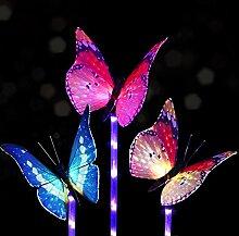 Samoleus 5 LED Solar Leuchten Außen Farbwechsel,