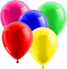 samrelook Luftballon Rundballon Ø 30 cm Mix Bunt