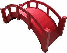 SAMS-Pavillons Miniatur-Gartenbrücke aus