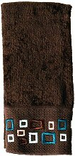 Samstag Knight Esquire Duschvorhang Collection & Bad Accessoires Finger Tip Towel braun