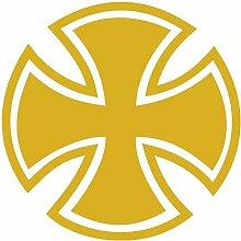 Samunshi® Aufkleber Eisernes Kreuz Motiv 3 in 10