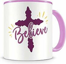 Samunshi® Believe Tasse Glaube Jesus Bibelvers