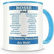 Samunshi® Bosse sind Tasse Beruf Geschenk