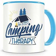 Samunshi® Camping Therapy Tasse Camping Geschenk