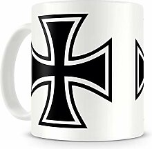 Samunshi® Eisernes Kreuz Iron Cross Tasse