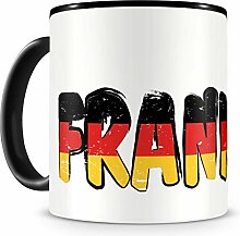 Samunshi® Frankfurt Tasse mit Spruch Frankfurt