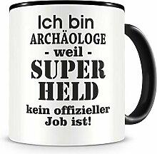 Samunshi® Ich bin Archäologe Tasse Beruf