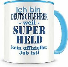 Samunshi® Ich bin Deutschlehrer Tasse Beruf