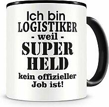 Samunshi® Ich bin Logistiker Tasse Beruf Geschenk