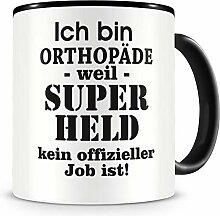Samunshi® Ich bin Orthopäde Tasse Beruf Geschenk