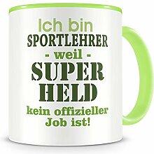 Samunshi® Ich bin Sportlehrer Tasse Beruf