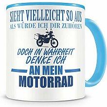 Samunshi® Ich denke an mein Motorrad Reiseenduro