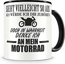 Samunshi® Ich denke an mein Motorrad Rennmotorrad