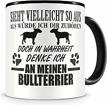 Samunshi® Ich denke an meinen Bullterrier Hunde