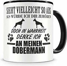 Samunshi® Ich denke an meinen Dobermann Hunde