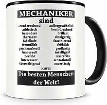 Samunshi® Mechaniker sind Tasse Beruf Geschenk