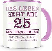 Samunshi® Mit 25 geht das Leben los Geburtstags