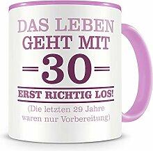 Samunshi® Mit 30 geht das Leben los Geburtstags