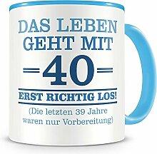 Samunshi® Mit 40 geht das Leben los Geburtstags