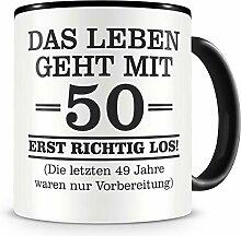 Samunshi® Mit 50 geht das Leben los Geburtstags