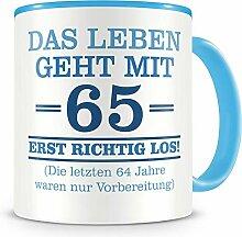 Samunshi® Mit 65 geht das Leben los Geburtstags