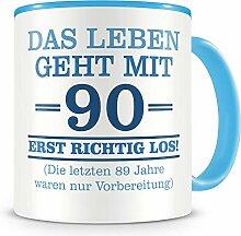 Samunshi® Mit 90 geht das Leben los Geburtstags