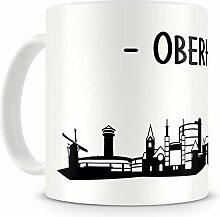 Samunshi® Oberhausen Skyline Tasse Kaffeetasse